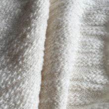 Slub terry cotton knitting fabric