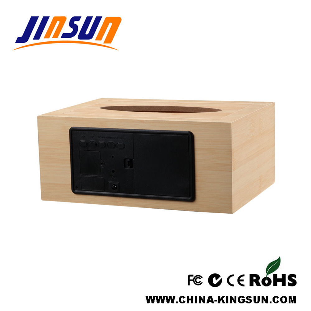 Tissue Box With Led Clock