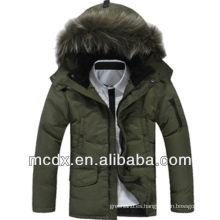 el invierno de los hombres calientes de la manera abajo chaqueta