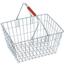 Bestseller-Carry Einkaufen Korb Draht shopping Korb Metall Warenkorb