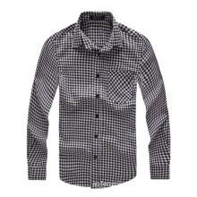 Men's pure cotton autumn long-sleeves shirt