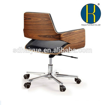 TOP sale Alibaba office chair with rosewood seat frame design midium back office chair, swivel office furniture on sale