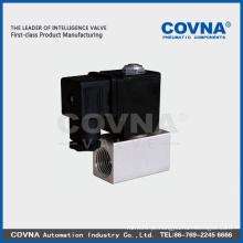 Válvula solenóide de ar de baixa pressão