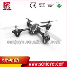 Mais recente sistema de controle de vôo de 6 eixos com sensibilidade ajustável giroscópio 2.4g 4ch quadcopter kit Com 4 canais