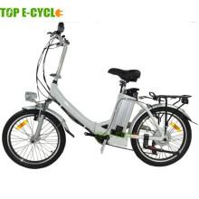 TOP / OME heißer Verkauf chinesischen Elektrofahrrad Legierung Rahmen faltendes elektrisches Fahrrad
