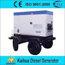 Gerador diesel portátil à prova de som de 25KVA