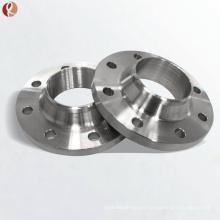 astm b381 cuello de soldadura reduciendo brida forjada de titanio