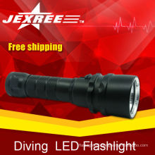 cree led flashlight glow in the dark led light torch
