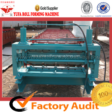 0.3 - 0.8mm thickness double layer roof roll forming machine