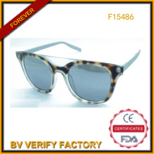 Comércio de garantia mais recentes novo plástico de óculos de sol de Verão (F15486)