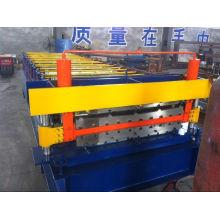 Material de construcción de alta calidad hoja de techo rollo que forma la máquina