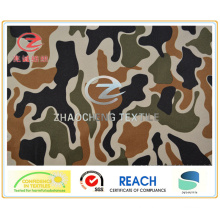 350t Poly Pongee Desert Camouflage Printing Fabric (ZCBP140)