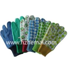 Baumwolle Nähen Bunte Garten Handschuhe Kinder Handschuhe Arbeitshandschuh
