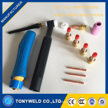 tig welding torch gas lens kit for wp17/wp18/wp26