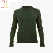 Boy's Fashion Designed Plain Cashmere Pullover Sweater