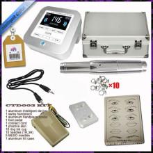 Tattoo painel de controle digital permanente máquina de maquiagem kits set para sobrancelha e lábio