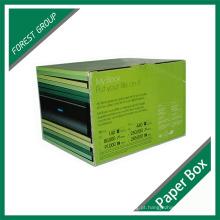 Caixa ondulada da impressão do logotipo da embalagem (FP7008)