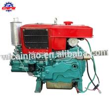 Motor diesel refrigerado por agua del comienzo eléctrico del solo cilindro 1110ED para la agricultura
