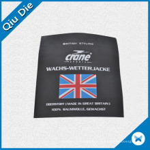 Great Britan Satin Flag Label for Bags