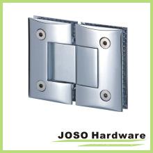 180 graus de vidro para vidro com dobradiça de porta curvada (Bh4002)