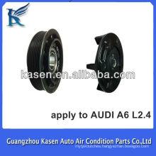 Denso 6SEU14C electric automotive ac compressor clutch for AUDI A6 Factory in Guangzhou