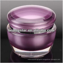 Mushroom acrylic cosmetic jar