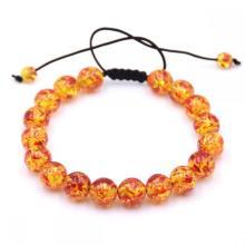 Yoga Chakra Manik-manik Batu amber Alami