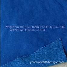 Tricot Brushed Fabric for Sportswear/School Uniforms/Lining Fabric