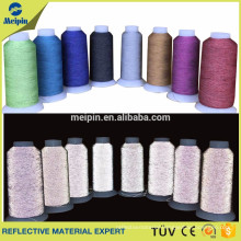 reflective machine embroidery thread