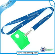 Thickness Polyester Lanyard with ID Card Holder