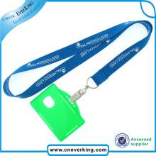Wholesale Factory Vente promotionnelle Custom Custom ID Card Lanyard