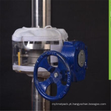 Proteção de flange de filme PTFE