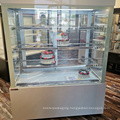 1800mm supermarket cake display showcase