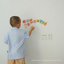 Placa seca da etiqueta do Erase para ímãs do refrigerador