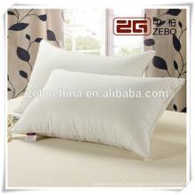 Cobertura de algodão de alta qualidade personalizado personalizado Almofadas de penas por atacado