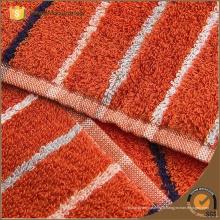 Toiles 100% coton en fibre de coton teinté