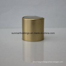 18/410 20/410 24/410 Capsules de disque à vis lisse en aluminium mat