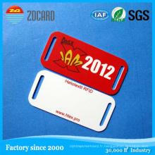 Étiquette NFC en PVC imprimée personnalisée