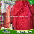 Gelbe HDPE Ingwer Monofilament Net Tasche / Dreher Mesh-Tasche für Ingwer