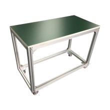 Table d'établi en aluminium pour la chaîne de montage