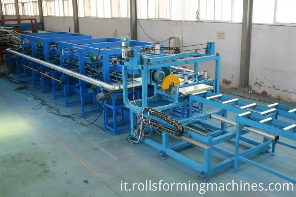 rock wool roof panel machine