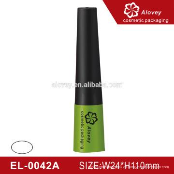 Lady-como elegante envase de plástico cosméticos botella de eyeliner líquido vacío