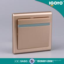 Igoto E9011-G 1 Gang Tipos universais de interruptores elétricos