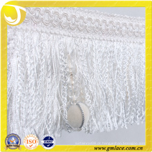 China Fornecedor Traje de roupa de mulher Traje Red Sexy White Tassel Trim