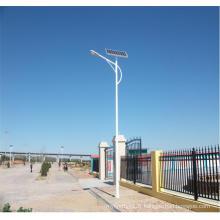 Réverbère solaire de 10m 100W LED avec la batterie au lithium