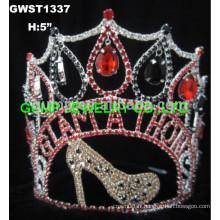 Le défilé personnalisé couronne les tiaras
