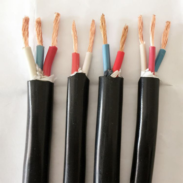 Light Type Oilproof Electrical Rubber Sheathed Cables