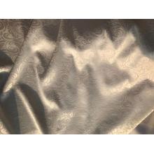 tissu d'impression solide teint par satin gaufré