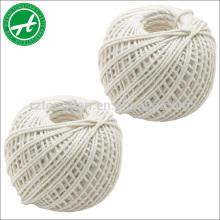 Hilo de algodón trenzado de 3 hilos para la venta al por mayor
