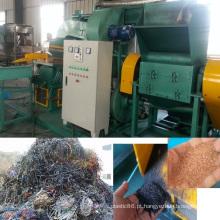 Equipamento de reciclagem de cabos de cobre